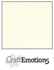 CraftEmotions linnenkarton ivoor 27x13,5cm 250gr