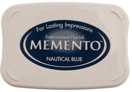 Memento inktkussen Nautical blue