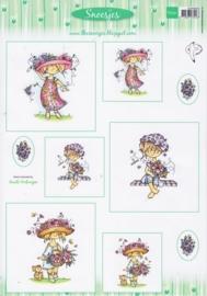 Card Topper Snoesjes - Lente - 3DHM0053