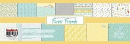 ScrapBerry's Paper Collection Set Forest Friends (12*12-190GSM), 13 Sheets (SCB220608600)