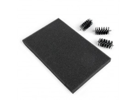 Replacement  Die brush heads & Foam pad