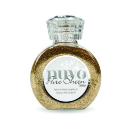Nuvo Pure sheen glitter - rose gold 718N