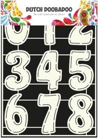 Dutch Doobadoo - Stencil Art - Cijfers