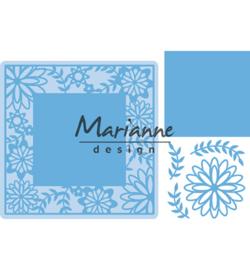Marianne D Creatables  LR0577 - Flower Frame square