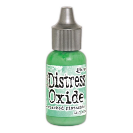 Ranger Distress Oxide Re- Inker 14 ml - cracked pistachio TDR56997 Tim Holtz
