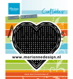 Marianne D Craftable CR1482 - Cross Stitch Heart