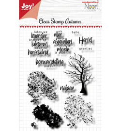 Noor! Design - 6410/0525 - Clearstamp - Autumn Tree