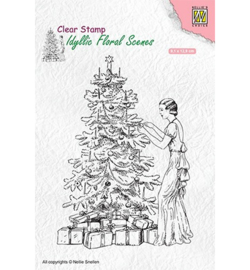 Nellie`s Choice IFS019 - Vintage Christmas