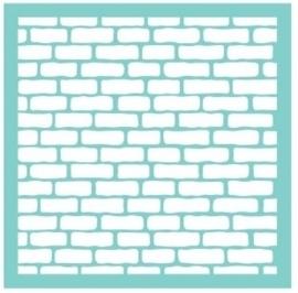 """Kaisercraft template 12"""" Bricks"""