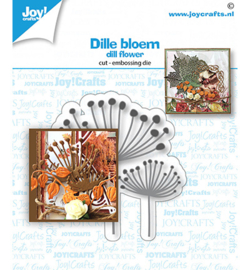 Joy! Crafts - 6002/1536 - Stans-embosmal - Dille bloem