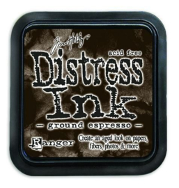 Ranger Distress Inks pad - ground expresso TIM43270 Tim Holtz