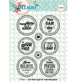 Studio Light Clearstempel A6 Flower Delight nr 95 STAMPFD95