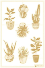 Piatek13 - Chipboard embellishments Garden of Books 02 P13-GAR-44