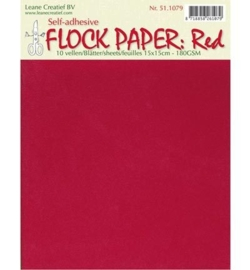 Flock Paper - Red