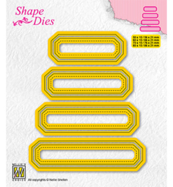 Nellie`s Choice - SD205 - Set of 4 tags-4