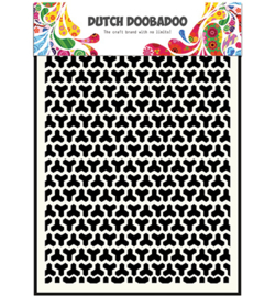 Dutch Doobadoo Mask Art Geomatric Blocks