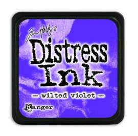 Tim Holtz distress mini ink wilted violet