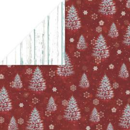 "Craft & You - White Christmas - 2 (12""x 12"")"