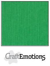 CraftEmotions linnenkarton grasgroen 27x13,5cm 250gr