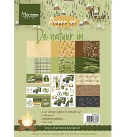 Marianne D - PK9176 - De natuur in by Marleen