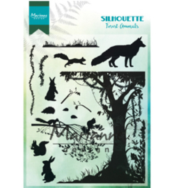 Marianne D CS1021 - Silhouette Forest Animals