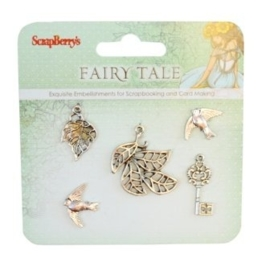 ScrapBerry's Metal Charms Set Fairy Tale 2 (SCB25002025)
