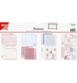 Noor! Design - 6011/0645 - Papierset - Design - Meisje in Jeans