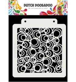 Dutch Doobadoo - 470715141 - Dutch Mask Art Doodle Circle