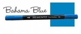 Memento marker Bahama blue