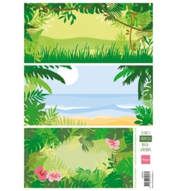 Marianne D Knipvel AK0070 - Eline's tropical backgrounds