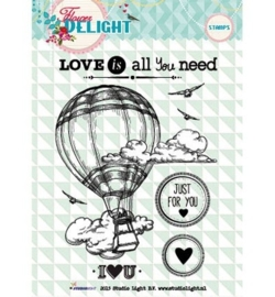 Studio Light Clearstempel A6 Flower Delight nr 94 STAMPFD94