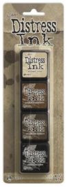 Ranger Distress Mini Ink Kit 3 TDPK40330 Tim Holtz