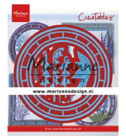Marianne D Creatables LR0648 - Blue bell circle