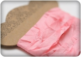 ScrapBerry's Shabby Ribbon Pink 10 mm 1 m (SCB510111)