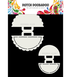 Dutch Doobadoo - 470713720 - Shape Art 2x Strand Tasjes