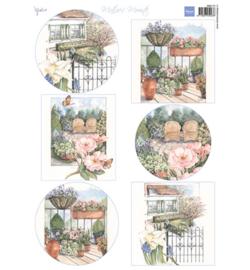 Marianne D Knipvel MB0175 - Mattie's mooiste: Garden