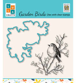 Nellie`s Choice - HDCS013 - Garden bird-5