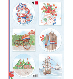 Marianne D Knipvel EWK1274 - I love Holland - Bicycle