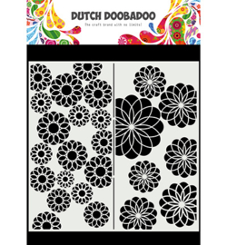 Dutch Doobadoo - 470.715.823 - Mask Art Slimline Flowers