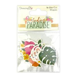 Dovecraft Finding Paradise Die Cut Shapes (16pcs) (DCTOP171)