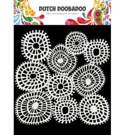 Dutch Doobadoo - 40483 - Linnen circles