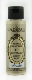 Cadence Gilding Metallic acrylverf Platina 01 035 0107 0070 70 ml
