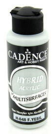 Cadence Hybride acrylverf (semi mat) Fijn groen 01 001 0048 0120 120 ml