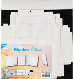 Joy! Crafts - 8089/0271 - Shadow Box 3 maten - wit