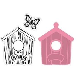Col 1309 - Birdhouse Home