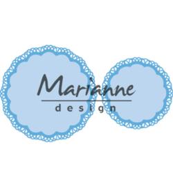 Marianne D Creatables LR0592 - Doily duo
