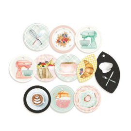 Piatek13 - Decorative tags Around the table 01 P13-TAB-21