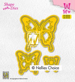 Nellie`s Choice - SD196 - Butterflies
