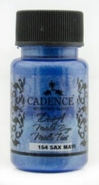Cadence Dora metallic verf Sax Blue 01 011 0154 0050 50 ml