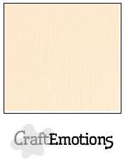 CraftEmotions linnenkarton - zand LHC-12 A4 250gr